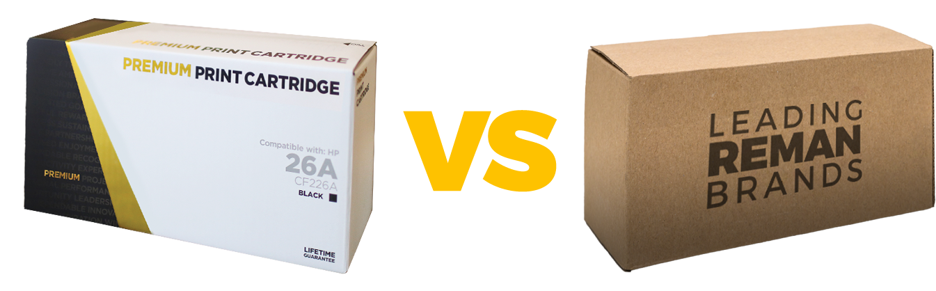 Gold Line vs Remanufactured Cartridges